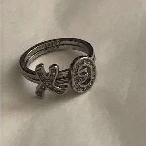 Juicy Couture XO Ring Set